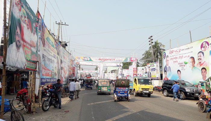 নোয়াখালী জেলা আওয়ামী লীগের সম্মেলনে উত্তাপ ছড়িয়েছে সাধারণ সম্পাদক প্রার্থীতা