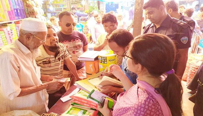 চাটখিলে ১২ প্রতিষ্ঠান ও এক প্রবাসীকে জরিমানা