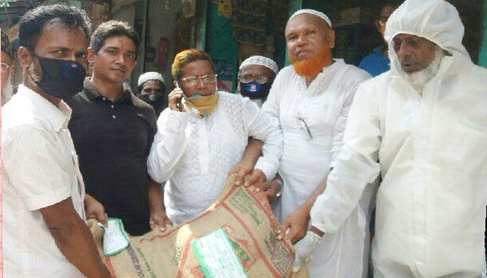 সোনাইমুড়ীতে আনান সমাজ কল্যাণ সংঘ প্রবাসী ইউনিটের ঈদ উপহার সামগ্রী বিতরণ