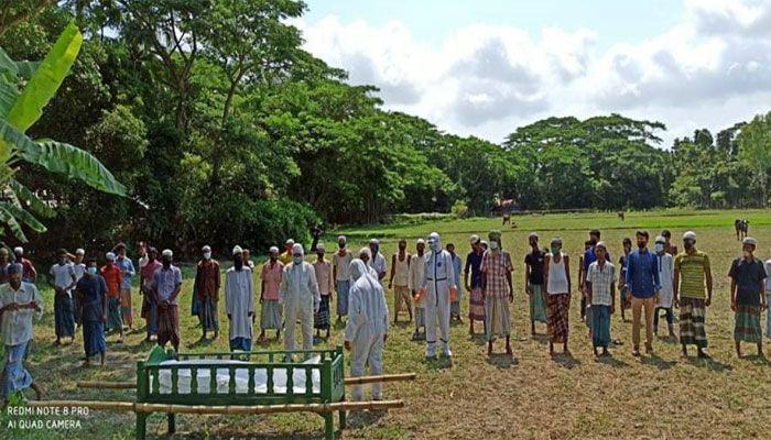 হাতিয়ায় করোনা উপসর্গ নিয়ে চট্রগ্রাম থেকে আসা বৃদ্ধের মৃত্যু, লাশ দাফনে বাধা